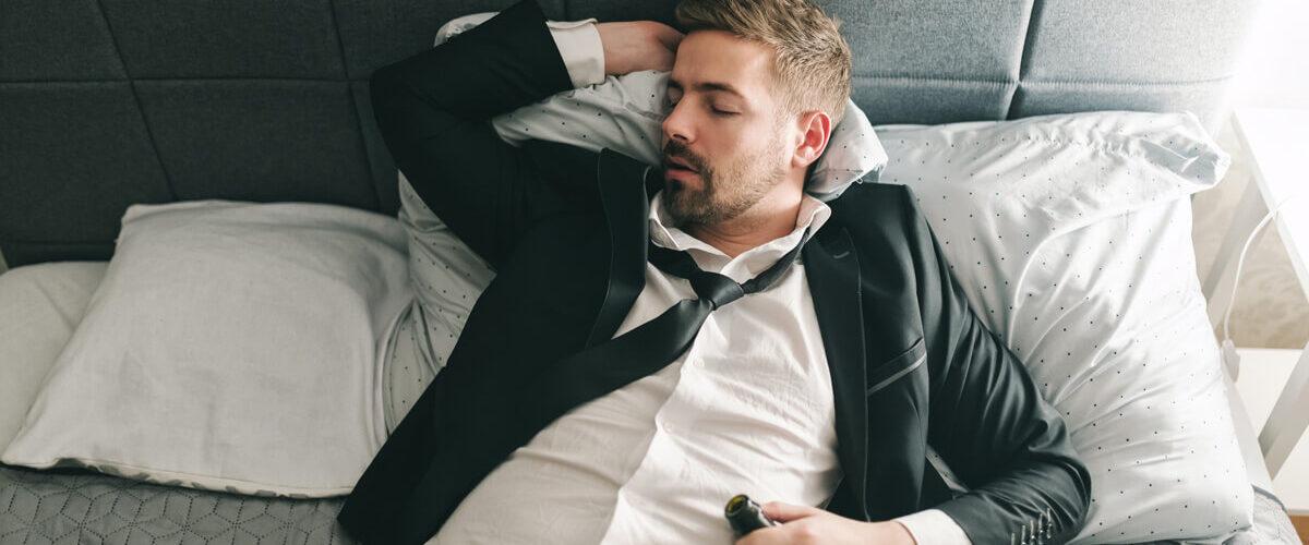Alkohol a spánek – úvodní obrázek