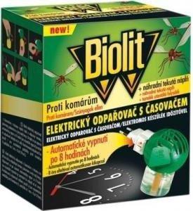 jak se zbavit komárů v noci – použijte Biolit elektrický odpařovač