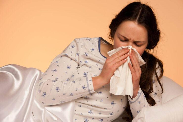 Alergie a spánek