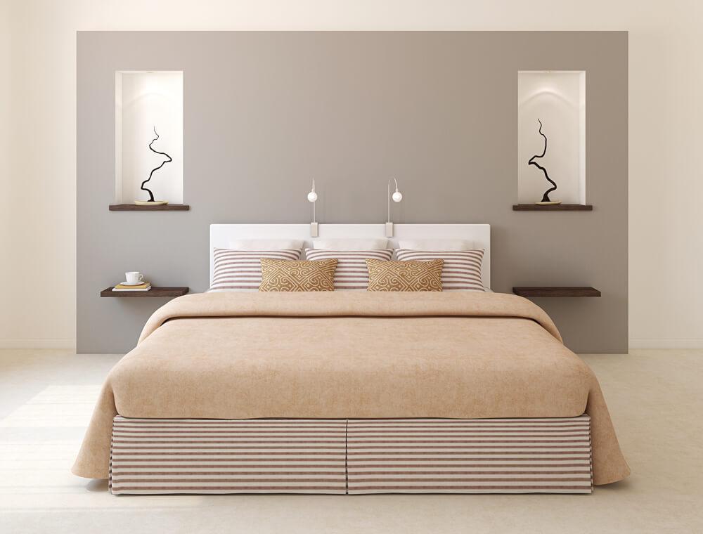 ložnice podle Fneg Shui - pravidlo dualismu
