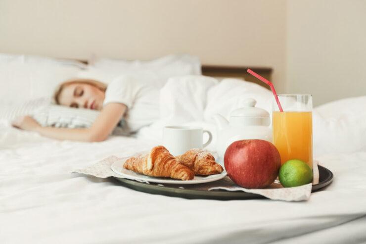 Spánek a strava
